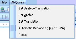Quran in msword 1